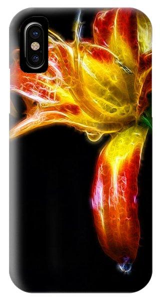Liquid Lily IPhone Case