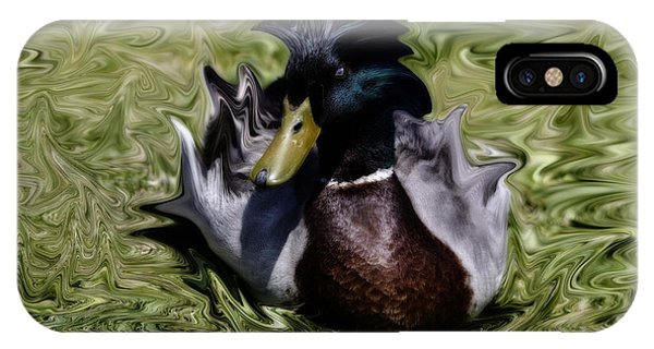 Liquid Mallard IPhone Case