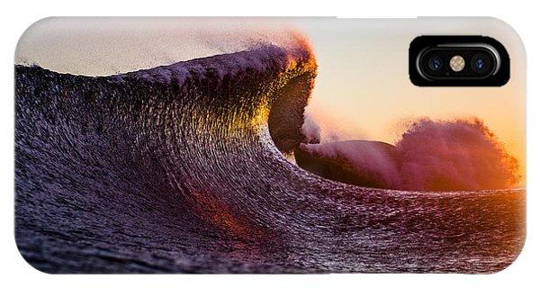 Waves iPhone Case - Liquid Sculpture by Ryan Moore