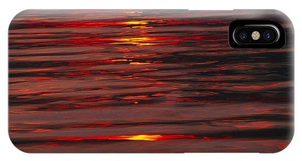 Liquid Sunset - Lake Geneva Wisconsin IPhone Case