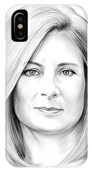 Space iPhone Case - Lisa Randall by Greg Joens