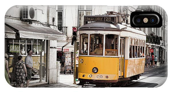 Lisboa Tram I IPhone Case