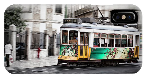 Lisboa Tram IIi IPhone Case