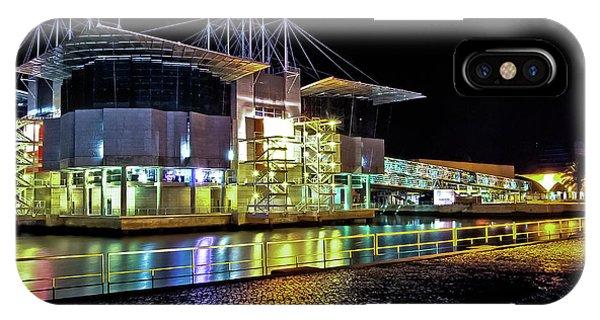Lisbon - Portugal - Oceanarium At Night IPhone Case