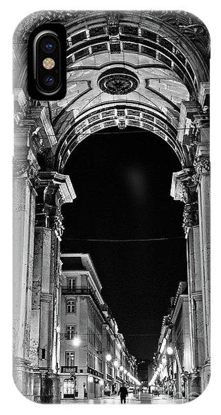 Lisbon - Portugal - Triumphal Arch - Rua Augusta IPhone Case