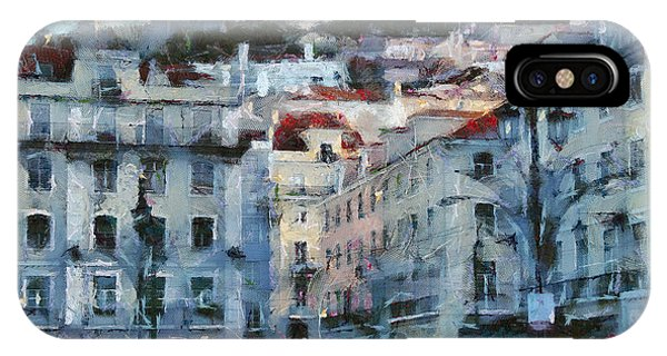 Lisbon Street IPhone Case