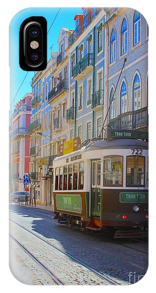 iPhone Case - Lisbon Trams by Carey Chen
