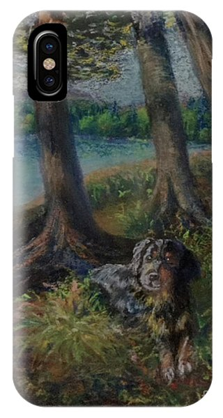 Listening To The Tales Of The Trees IPhone Case