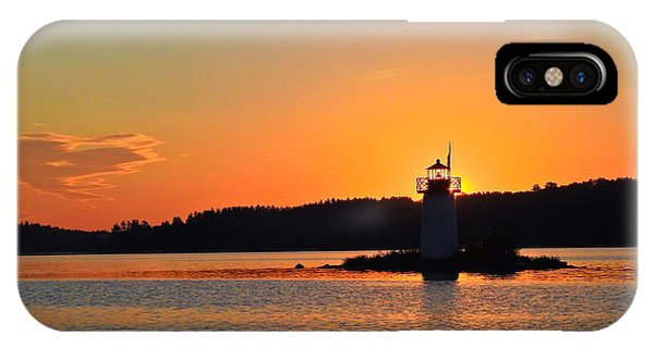 Lit By The Sun IPhone Case