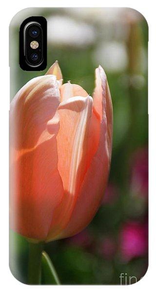Lit Tulip 01 IPhone Case