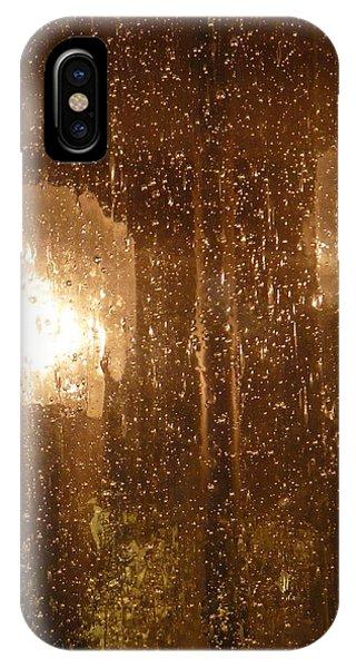 Lite Rain Phone Case by Florene Welebny