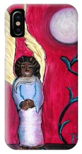 Little Angel Phone Case by Pilar  Martinez-Byrne