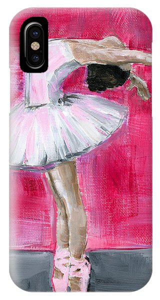 Little Ballerina #2 IPhone Case