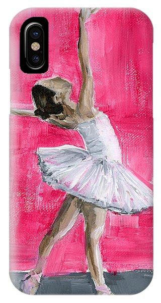Little Ballerina IPhone Case