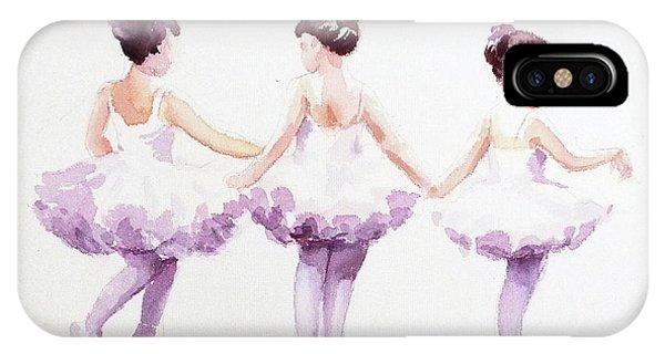 Little Ballerinas-3 IPhone Case