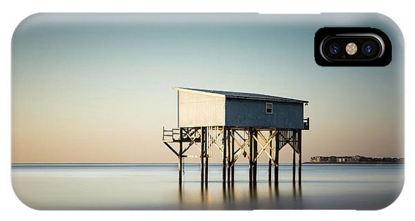 Long Beach Island iPhone Case - Little Blue Sunrise by Ivo Kerssemakers