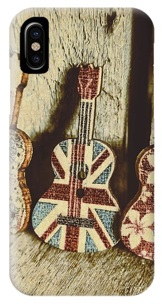 Song iPhone Case - Little Britain, Big Sounds by Jorgo Photography - Wall Art Gallery