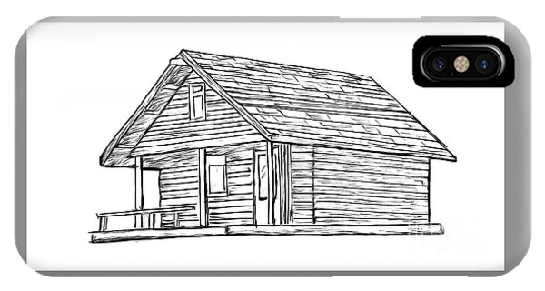 Little Cabin In The Woods IPhone Case