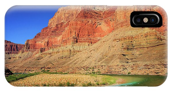 Grand Canyon iPhone Case - Little Colorado River Confluence #1 by Inge Johnsson