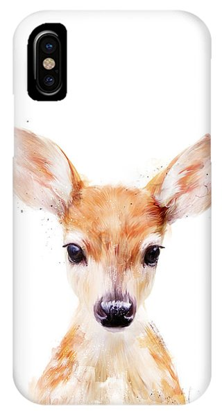 Niagra Falls iPhone Case - Little Deer by Amy Hamilton