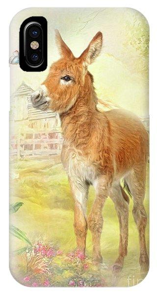 Little Donkey IPhone Case