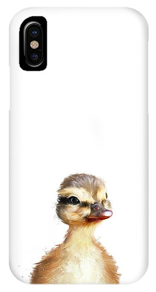 Duck iPhone Case - Little Duck by Amy Hamilton