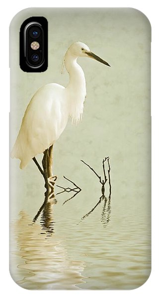 Little Egret IPhone Case
