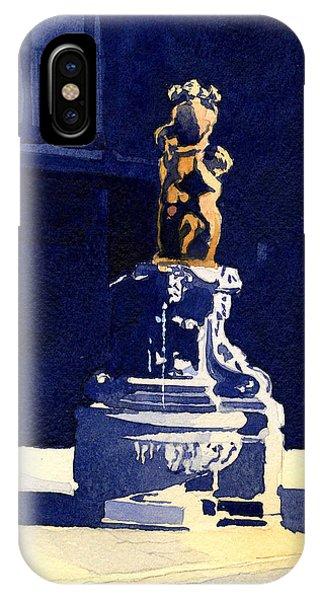 Little Fountain IPhone Case