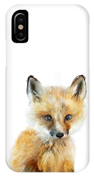 Cute iPhone Case - Little Fox by Amy Hamilton