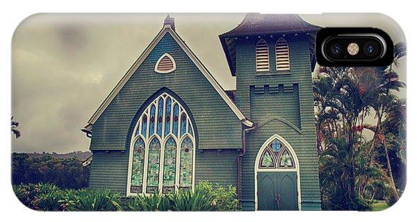 Little Green Church IPhone Case