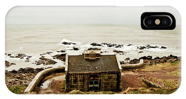 Little House At The Nigg Bay. IPhone Case