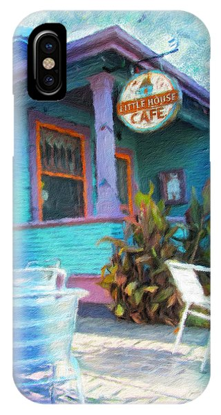 Little House Cafe  IPhone Case