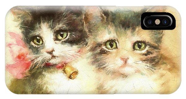 Little Kittens IPhone Case