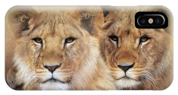 Little Lions IPhone Case