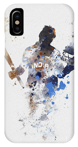 Cricket iPhone Case - Little Master by Rebecca Jenkins