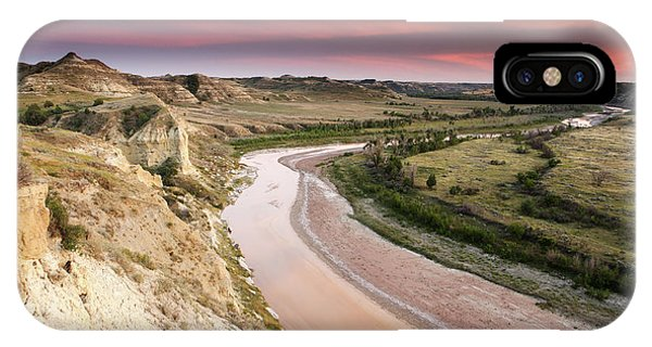 North Dakota Badlands iPhone Case - Little Missouri River by Eric Foltz