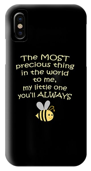 Little One You'll Always Bee Print IPhone Case