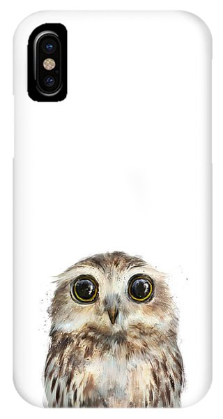 Niagra Falls iPhone Case - Little Owl by Amy Hamilton