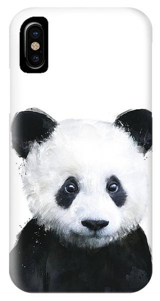 Human iPhone Case - Little Panda by Amy Hamilton