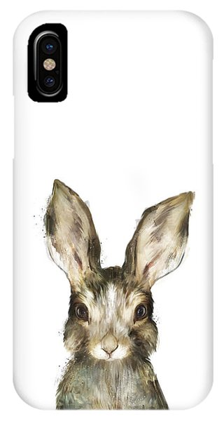Wild iPhone Case - Little Rabbit by Amy Hamilton