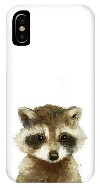 Wild iPhone Case - Little Raccoon by Amy Hamilton
