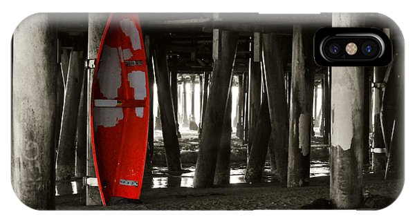 Little Red Boat IIi IPhone Case