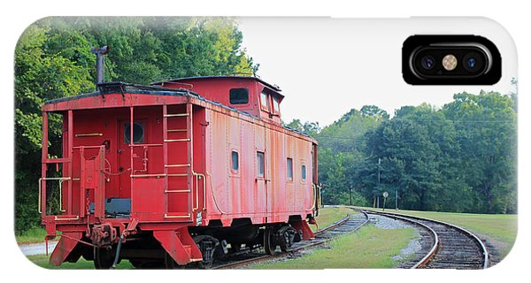 Red Caboose iPhone Case - Little Red Caboose by Suzanne Gaff