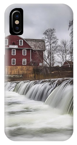 Little Red Mill IPhone Case