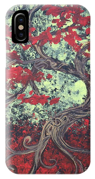 Little Red Tree Series 3 IPhone Case