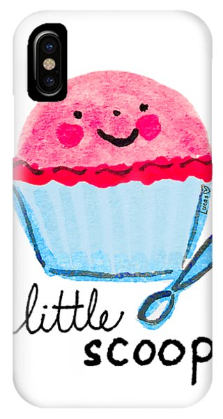 Ice iPhone Case - Little Scoop by Ashley Lucas