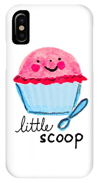 Ice Cream iPhone Case - Little Scoop by Ashley Lucas