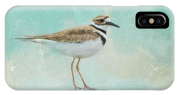 Killdeer iPhone Case - Little Seaside Friend by Jai Johnson