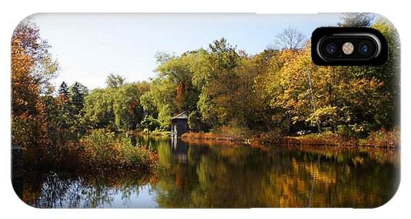 Little Shawme Pond In Sandwich Massachusetts IPhone Case