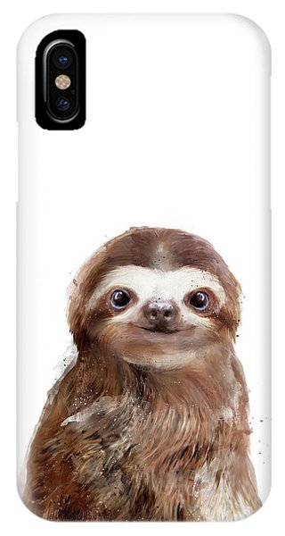 Fauna iPhone Case - Little Sloth by Amy Hamilton